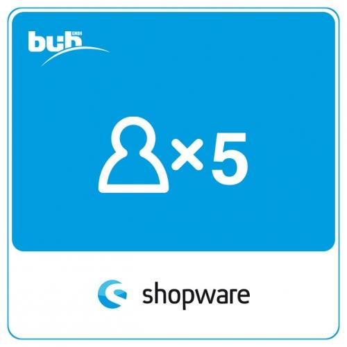 Variantenbestand auf Detailseite für Shopware