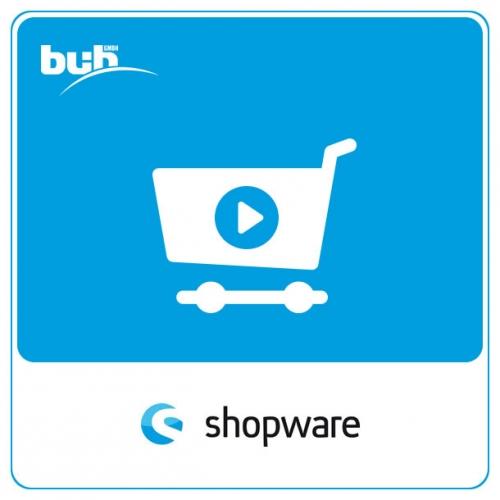 Video vor Warenkorb für Shopware